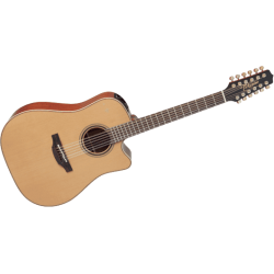 Takamine - P3DC12 Dreadnought 12 Cordes Cutaway Electro