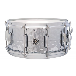"Gretsch GB4164HB 14x6,5"" Brooklyn Hammered Chrome Over Brass USA"