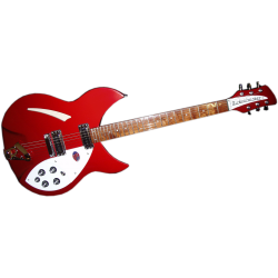 Rickenbackerb 330 RBW Ruby Red/ Rouge rubis