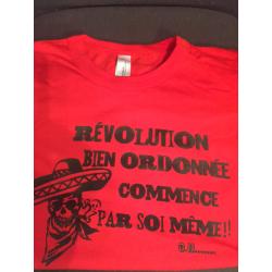 """T-Shirt """"Révolution"""" Taille L Femme"""