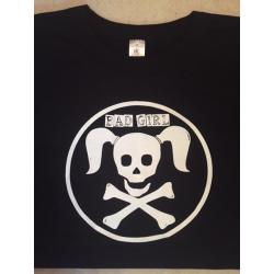 """T-Shirt """"Bad Girl"""" Noir Femme L"""