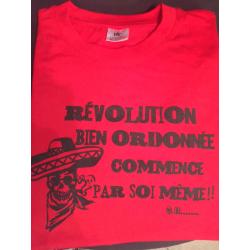 """T-Shirt """"Révolution"""" Taille M"""