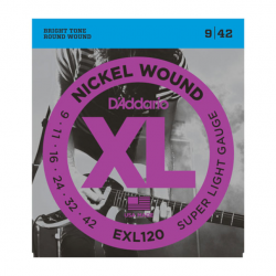 D'Addario EXL120 Nickel...
