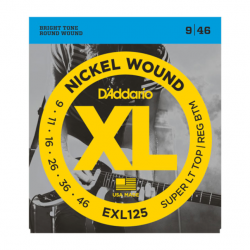 D'Addario EXL125 Nickel...