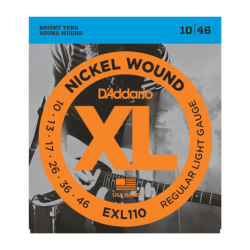 D'Addario EXL110 Nickel...