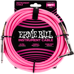 Ernie Ball Cable 5,5m Gaine...