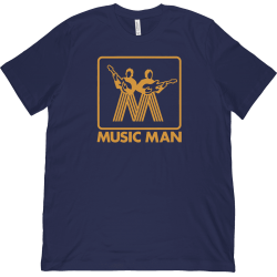 Music Man T-Shirt Vintage...