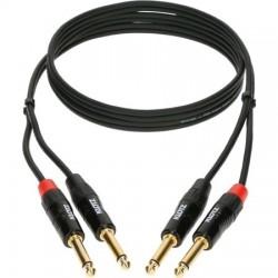 Klotz câble 3m twin 2jack...