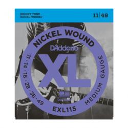 D'Addario EXL115 Nickel...