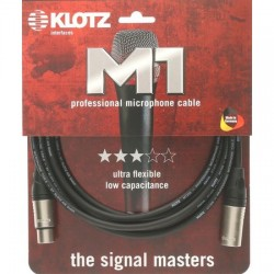 Klotz M1 7,5m Câble XLR/XLR
