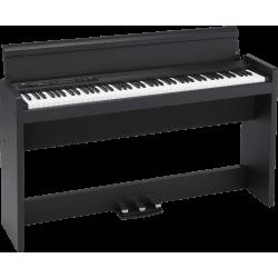 Korg LP380U Piano numérique 88 notes, noir avec stand