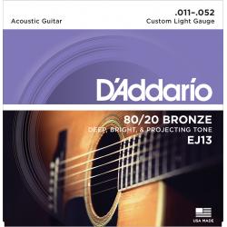 D'Addario EJ13 80/20 Bronze...