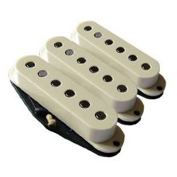 Bare Knuckle Slow Hand single coil Set - Black cover